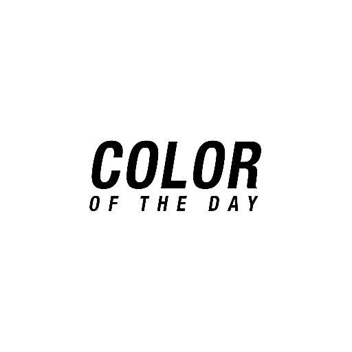 Color Of The Day