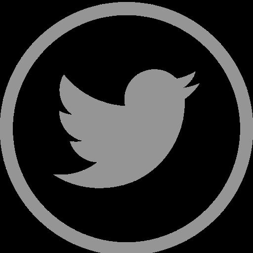 White Circle Twitter Logo Png Images