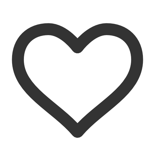Like Outline Icon Png