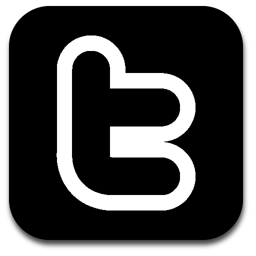 Twitter Black And White Logo Png Images