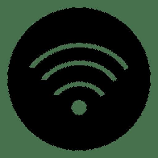 Wifi Round Service Icon