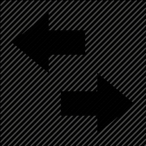 Arrow Hint, Directional Arrows, Opposite Arrows, Two Arrows, Two