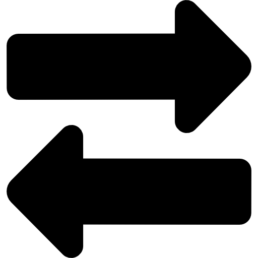 Two Way Arrows Icons Free Download