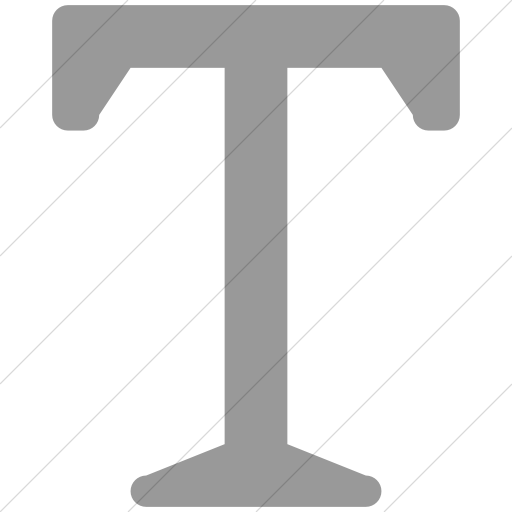 Simple Light Gray Broccolidry Typography Icon