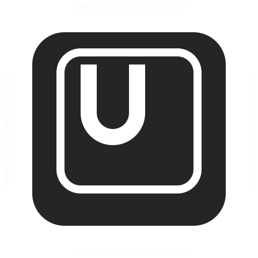 Keyboard Key U Icon Iconexperience