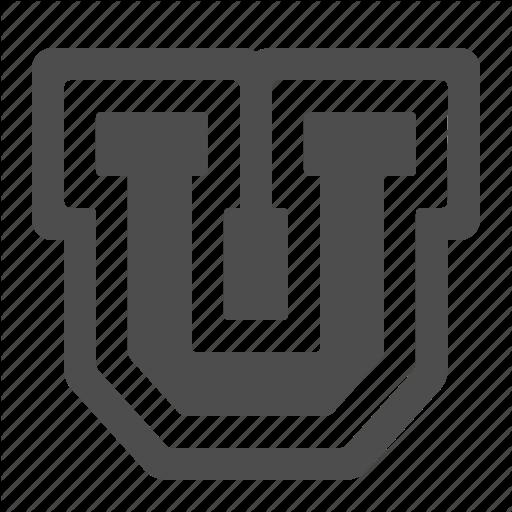 College, Education, Logo, U, University Icon