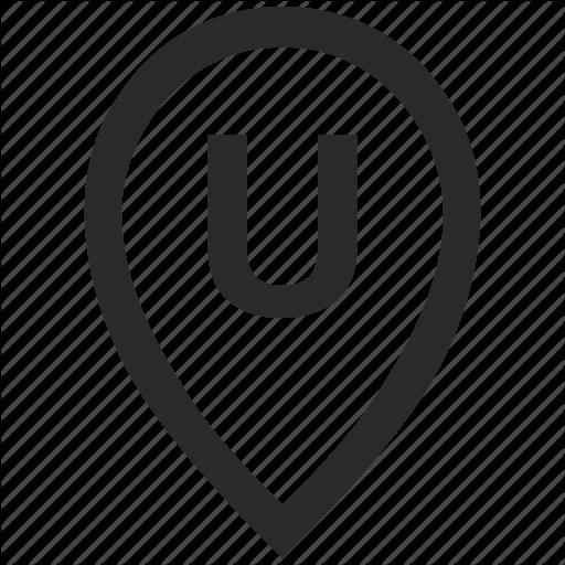 Geo, Letter, Location, Point, Pointer, U Icon
