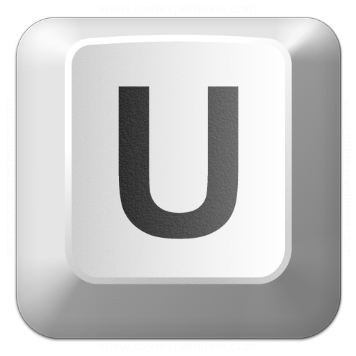Iconexperience V Collection Keyboard Key U Icon