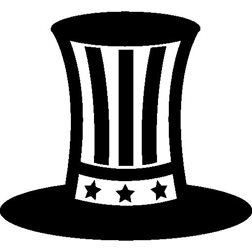 Uncle Sam Hat Symbol Icons Free Download