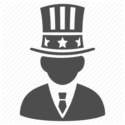 American President, Capital, Monopoly, Uncle Sam, United States