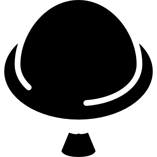 Round Hat With Small Moustache Icons Free Download