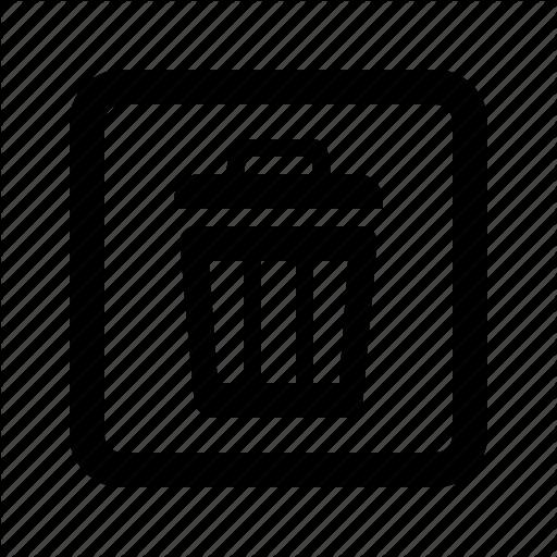 Delete, Format, Remove, Undelete Icon