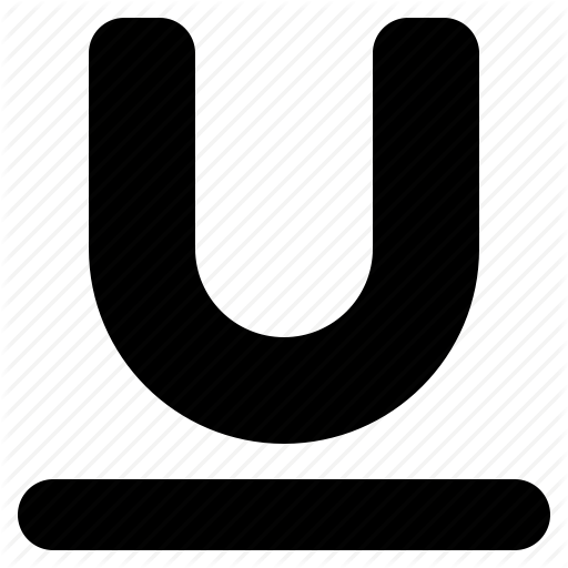 Format, Style, Text, Underline Icon