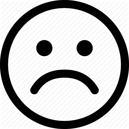 Unhappy Face Icon