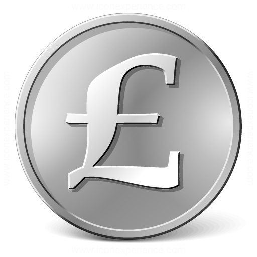 Iconexperience V Collection Currency Pound Icon