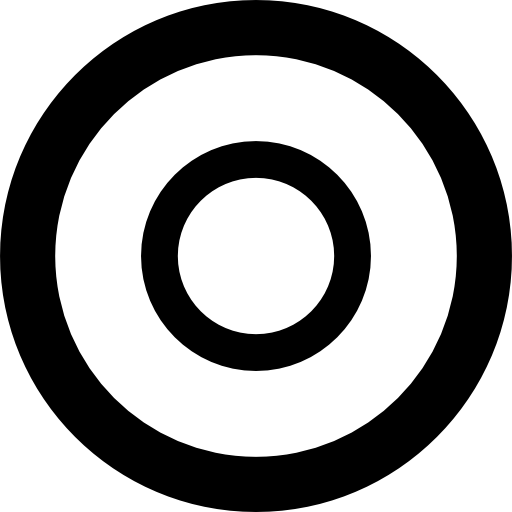Double Circle Icons Free Download