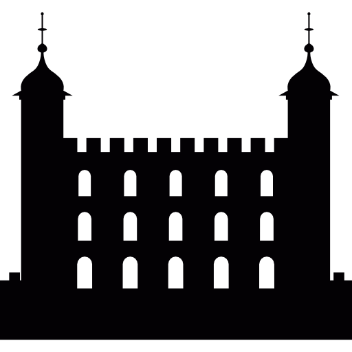 Tower Of London, Monument In United Kingdom Icons Free Download
