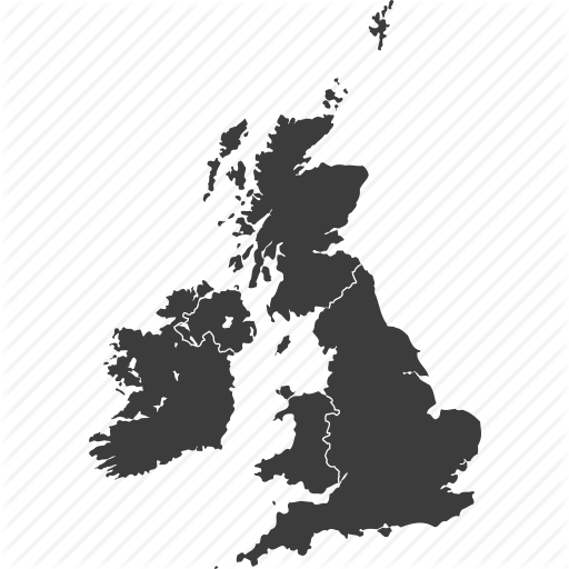Countries, Country, Europe, Great Britain, Location, Map, United