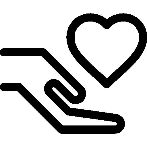 Charity Icon Minimal Universal Theme Freepik