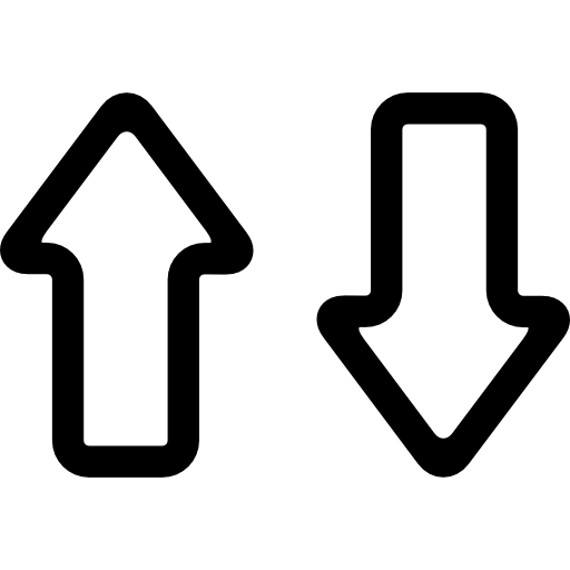 Up And Down Icon