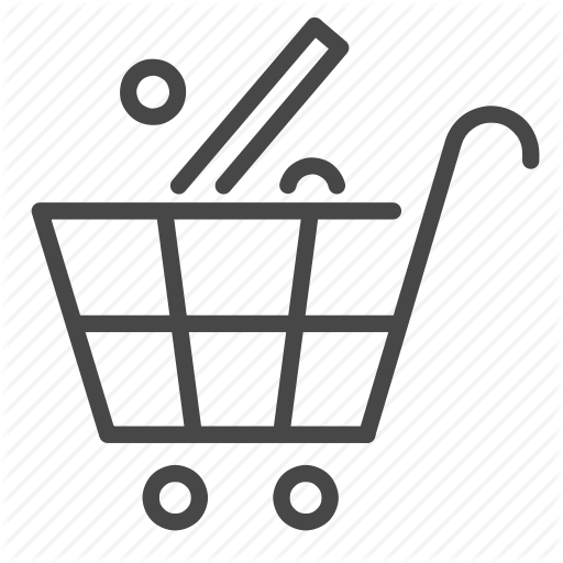 Cart, Discount, Percent, Sale, Shopping Icon