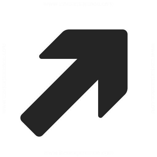 Arrow Up Right Icon Iconexperience
