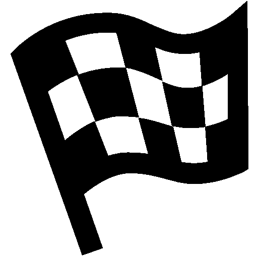 Sports Finish Flag Icon Android Iconset