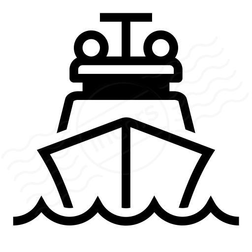 Iconexperience I Collection Ship Icon