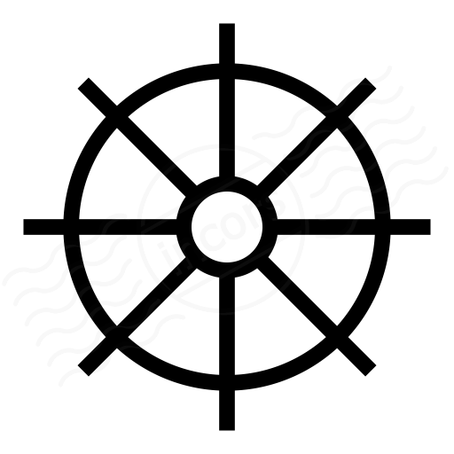 Iconexperience I Collection Ships Wheel Icon