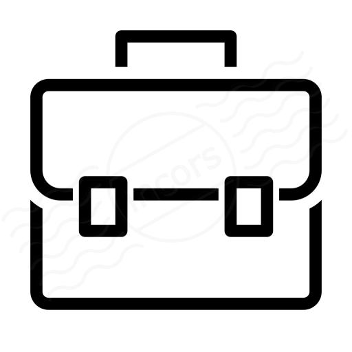 Iconexperience I Collection Briefcase Icon