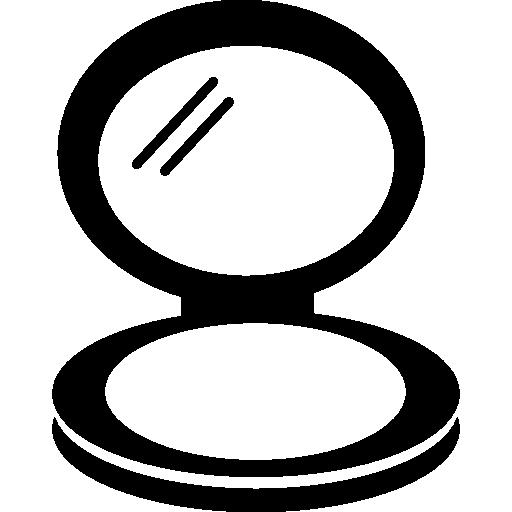 Mirror In Blush Circular Case Icons Free Download