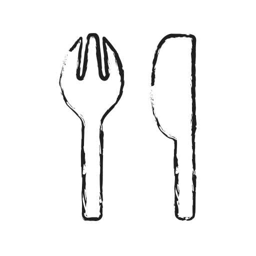 Folk, Kitchen, Spoon, Table, Tools Icon