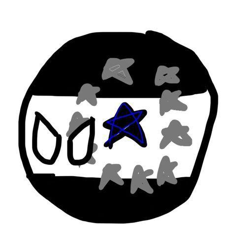 Soviet Black Star Mapper Polandball Amino