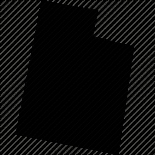 Map, State, States, United States, Usa, Utah Icon
