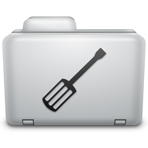 Noir Utilities Folder Icon