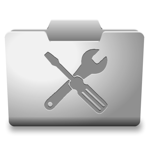 White Utilities Icon