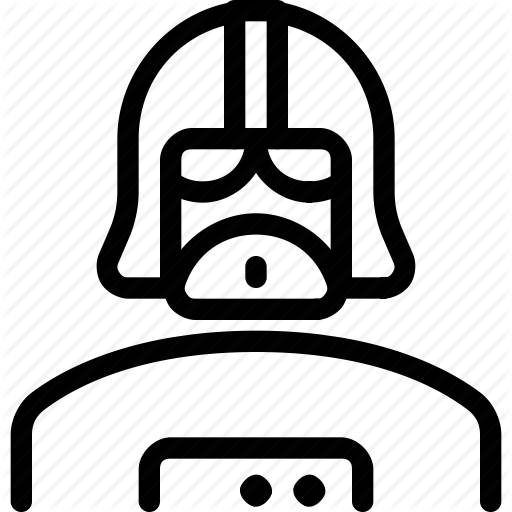 Character, Darth, Famous, Vader Icon