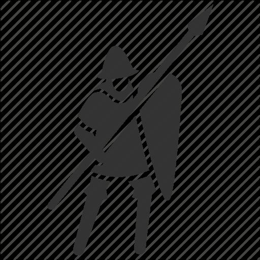 Infantry, Medieval, Soldier, Spear, Spearman, Vanguard, War Icon