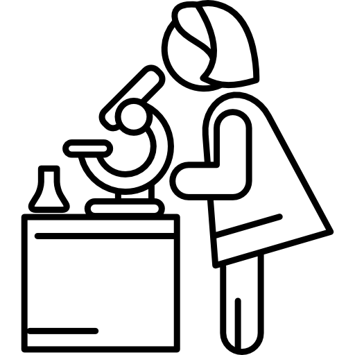 Woman Chemist Icons Free Download
