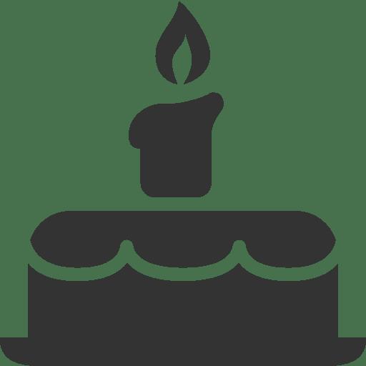 Birthday Cake Cupcake Food Icon Homelaber Brasil