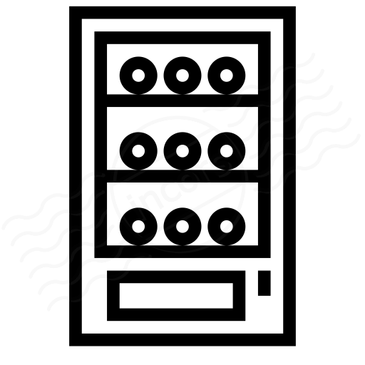 Iconexperience I Collection Vending Machine Icon