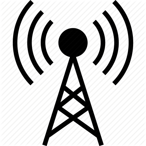 Antenna, Internet, Router, Signals, Tower, Wifi Icon