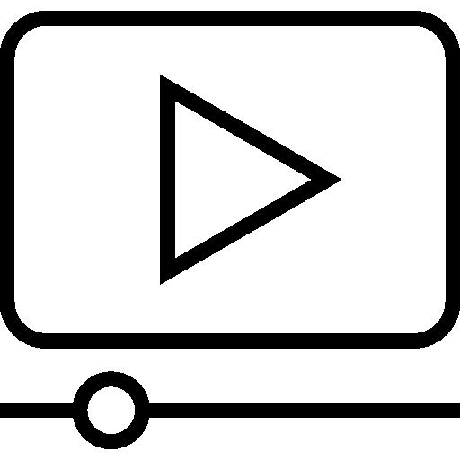 Content Creator Glyph Icon
