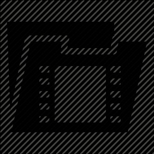 Folder, Media, Video Icon