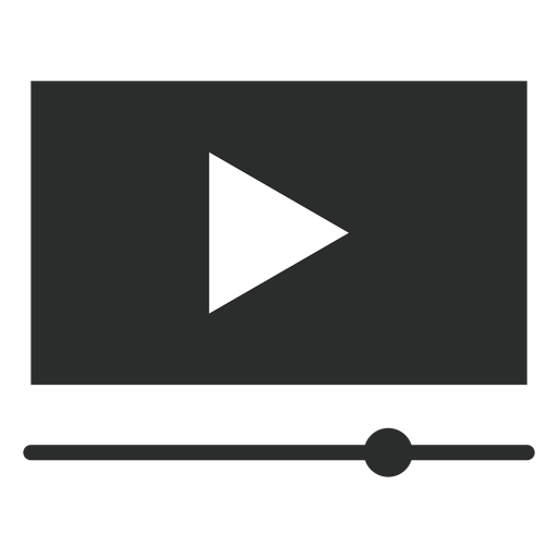 Video Player Interface Flat Icon
