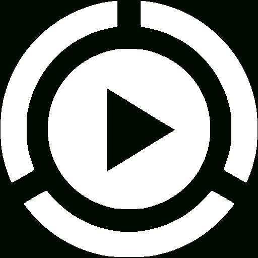 White Video Play Icon Free White Video Icons With Video Icon