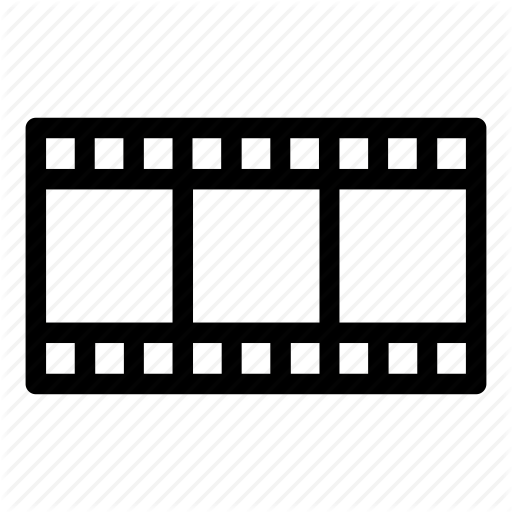 Cinema, Film, Frames, Movie, Reel, Video Icon