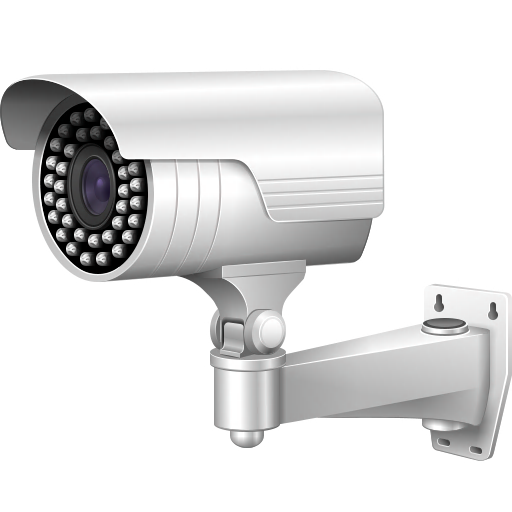 Video Surveillance Camera Icon