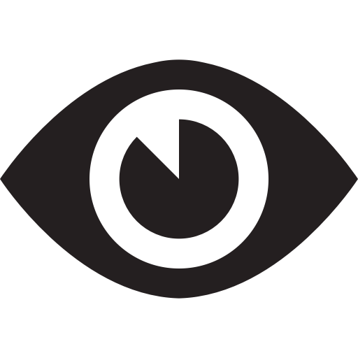 Appearance, Aspect, Design, Eye, Look, View, Vision Icon