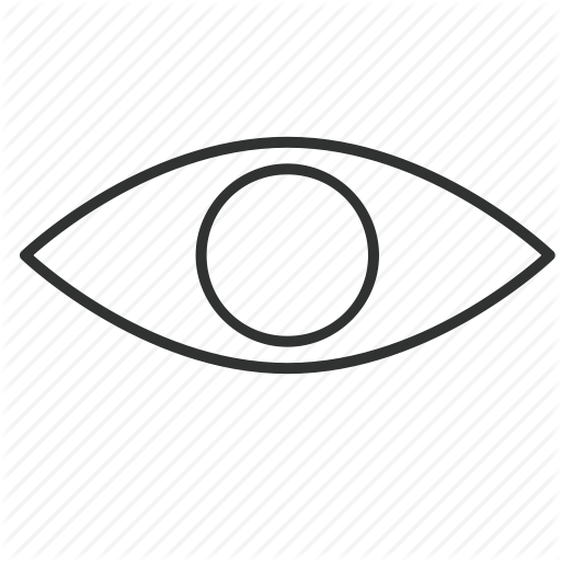 Gaze, Glass, Sight, Togaf, View, Viewpoint, Vision Icon